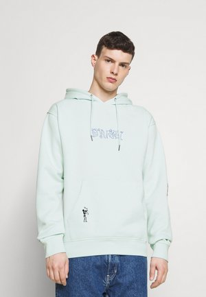 JAZZ THING HOODIE UNISEX - Sweatshirt - light blue