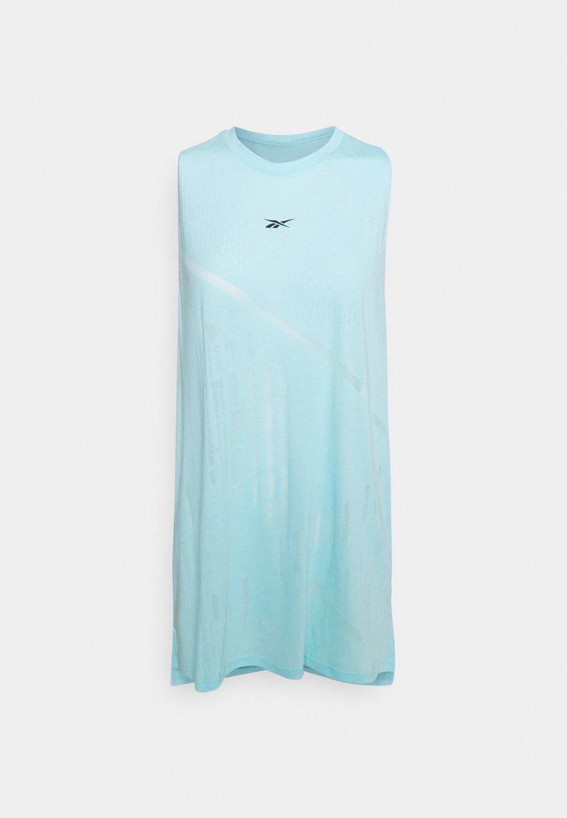 Reebok - BURNOUT TANK - Treningsskjorter - digital glow