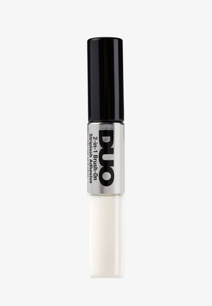DUO 2-IN-1 BRUSH ON ADHESIVE - Kunstwimpers - clear/dark