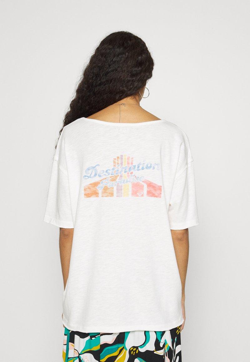 Roxy - FAIRY NIGHT - Print T-shirt - snow white