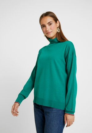 ESSENTIAL ROLL - Sweter - green