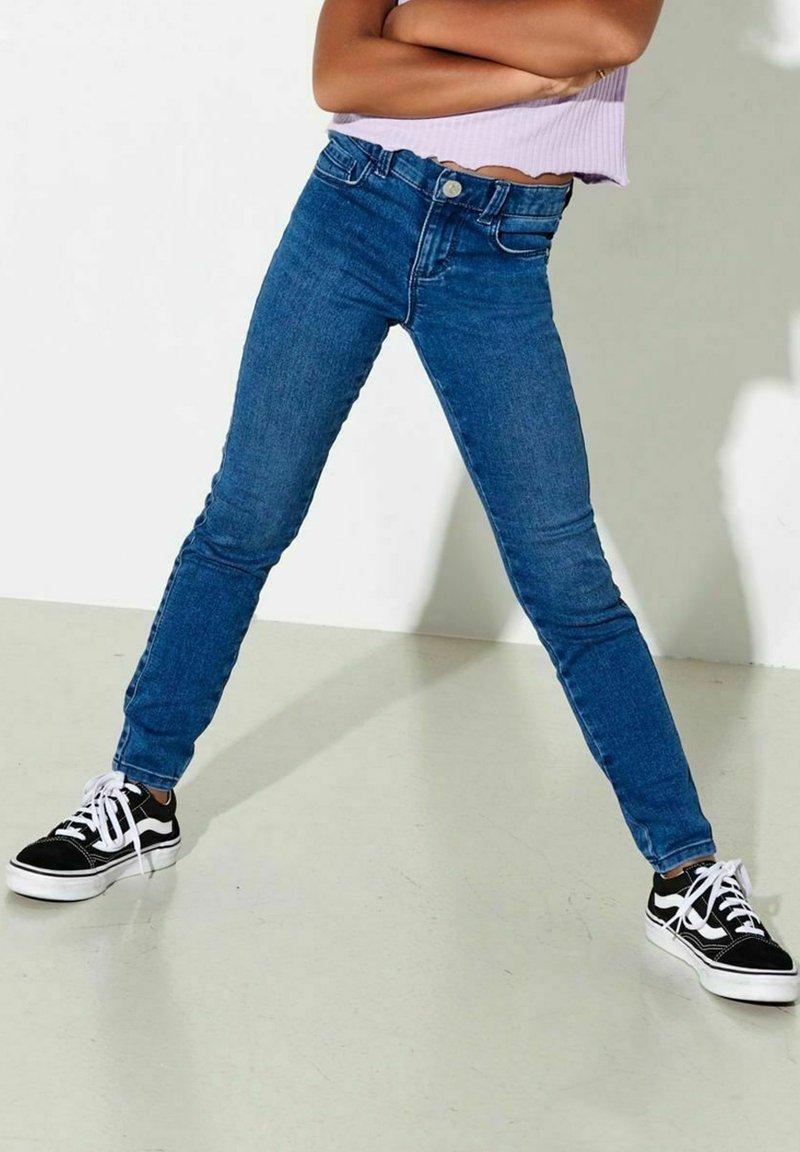 Kids ONLY - Jeansy Skinny Fit - medium blue denim