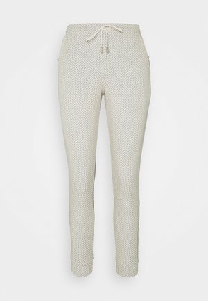 PANTS - Trousers - pearl white