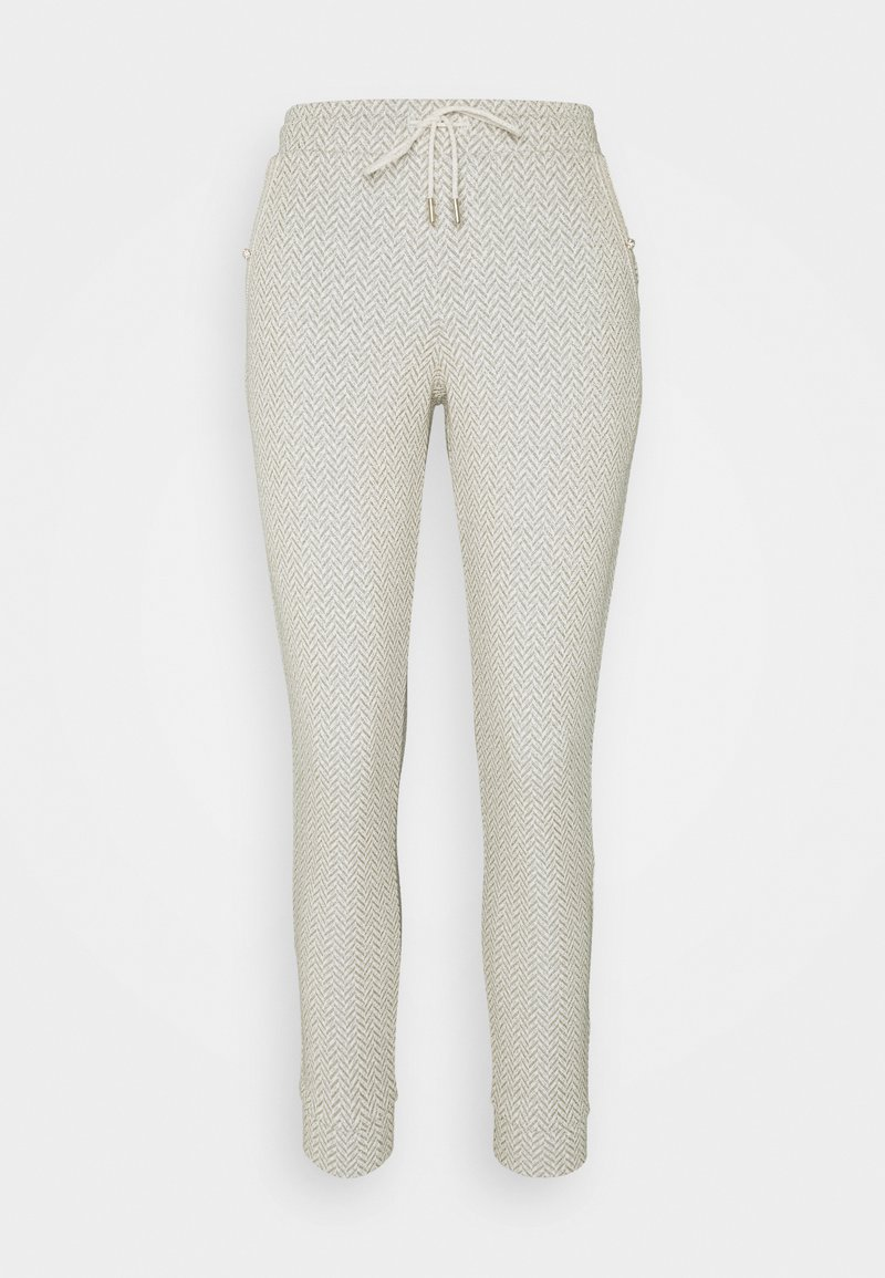 Rich & Royal - PANTS - Trousers - pearl white