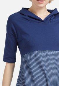 HELMIDGE - Day dress - schmalband blau - 3