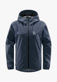 Haglöfs - BUTEO JACKET - Hardshell jacket - tarn blue - 4