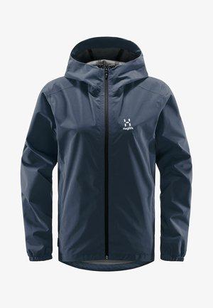 BUTEO JACKET - Hardshell jacket - tarn blue