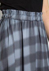 Mos Mosh - BELINI VICE SKIRT - A-line skirt - ombre blue - 4
