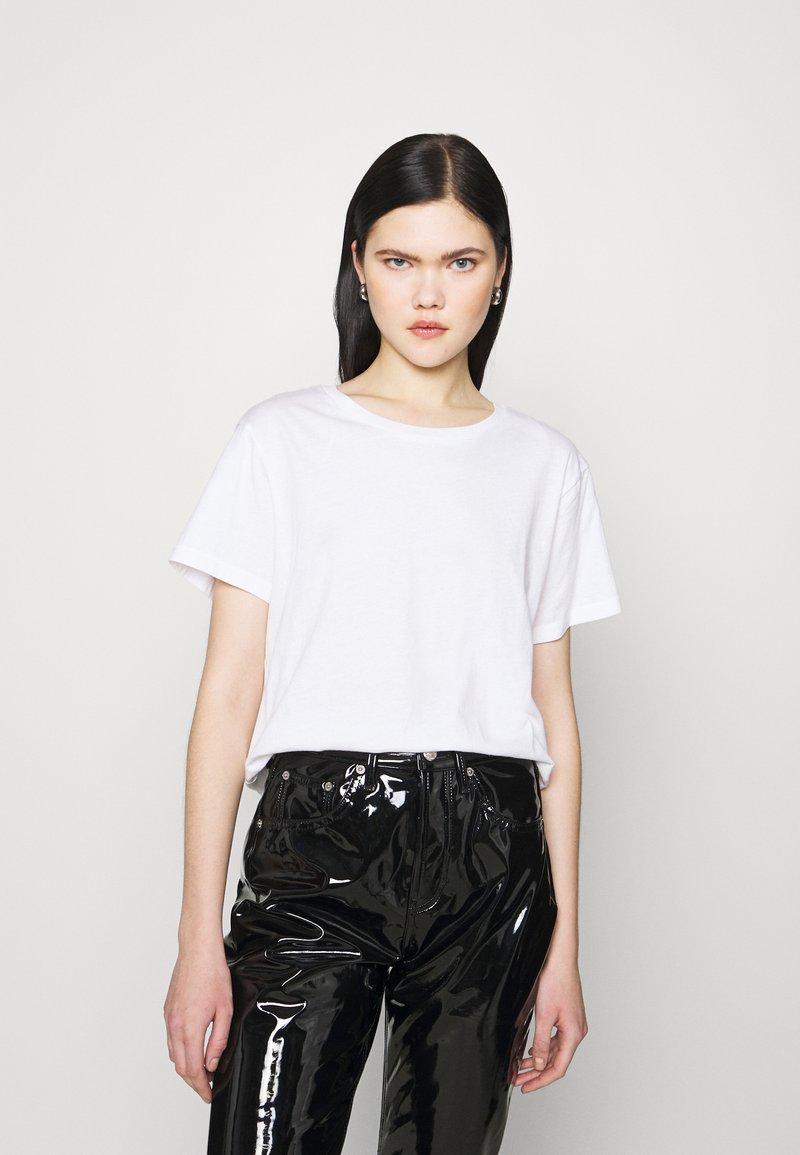 Weekday - BLANCA  - Print T-shirt - white
