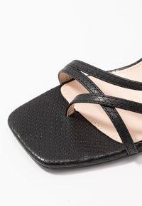 RAID Wide Fit - WIDE FIT ANINA - T-bar sandals - black - 2