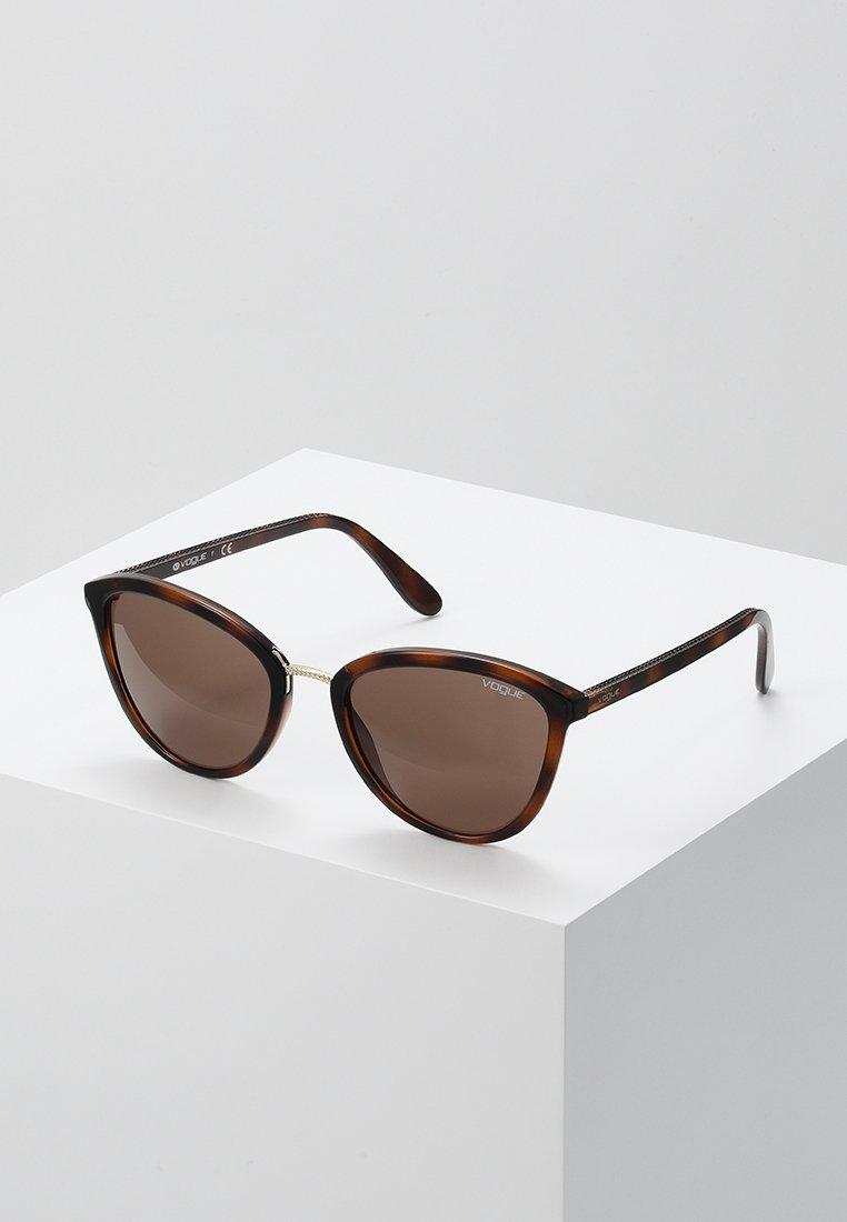 VOGUE Eyewear - Lunettes de soleil - top havana light brown