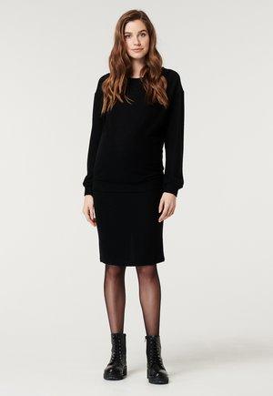 INGALLS - Long sleeved top - black