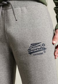 Superdry - Tracksuit bottoms - grey grit - 2