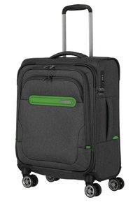Travelite - MADEIRA - Wheeled suitcase - anthracite/green - 2