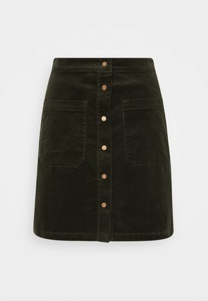 A-line skirt - utility olive