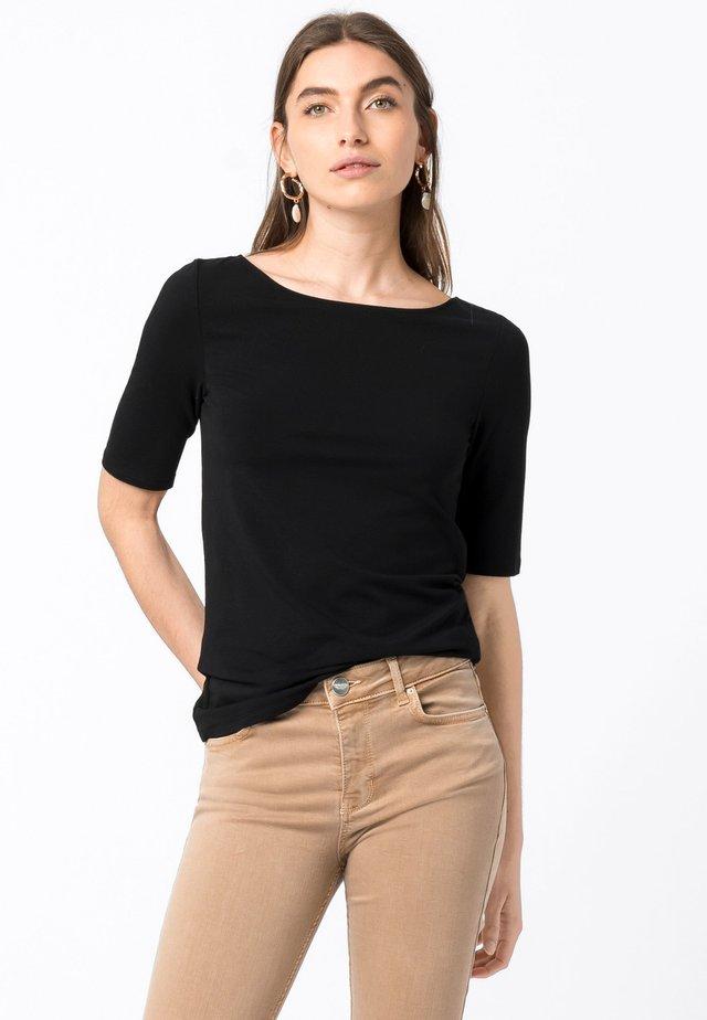 T-shirt basic - schwarz
