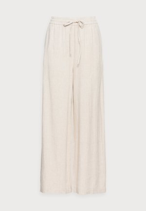 SMIA ANKLE PANTS - Trousers - wood ash