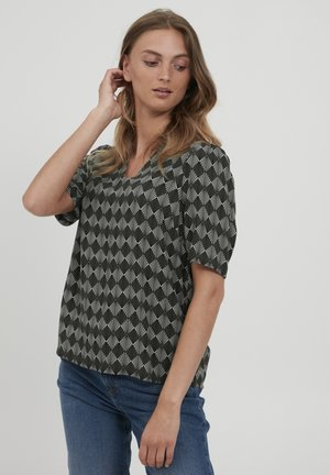BYJOSA BLOUSE - Blouse - seagrass mix