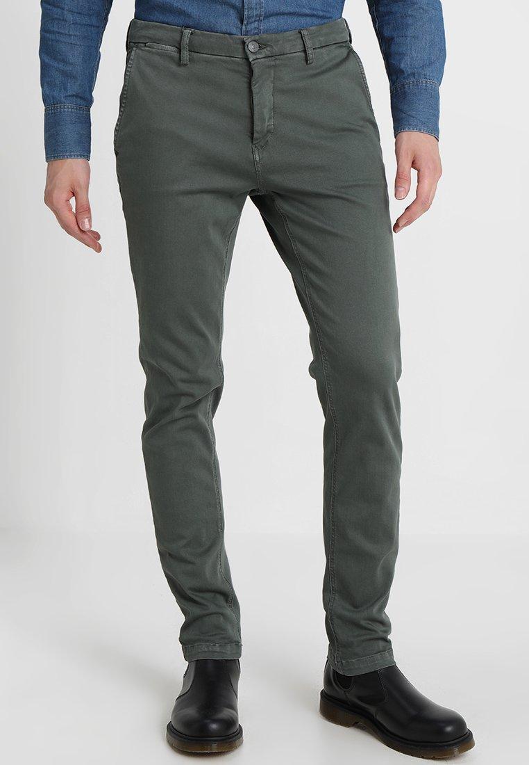 Replay - ZEUMAR HYPERFLEX  - Slim fit jeans - olive