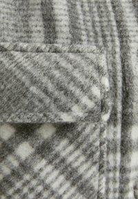 Bershka - Classic coat - grey - 4