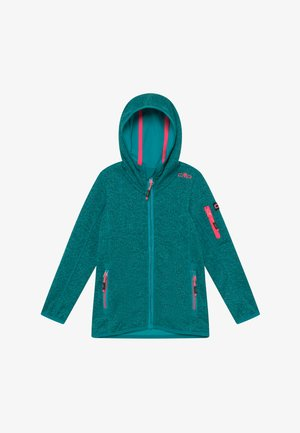 GIRL JACKET FIX HOOD - Zip-up hoodie - lake ceramic