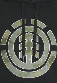 Element - WATER CAMO ICON FILL - Hoodie - flint black - 2