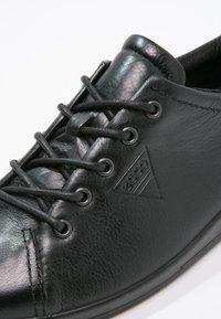 ECCO - SOFT 2.0 - Sneakers laag - black - 6