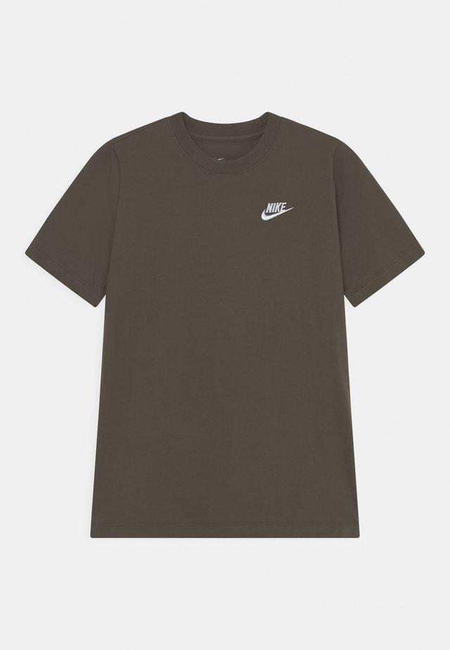 FUTURA TEE  - T-shirt basic - cargo khaki/white