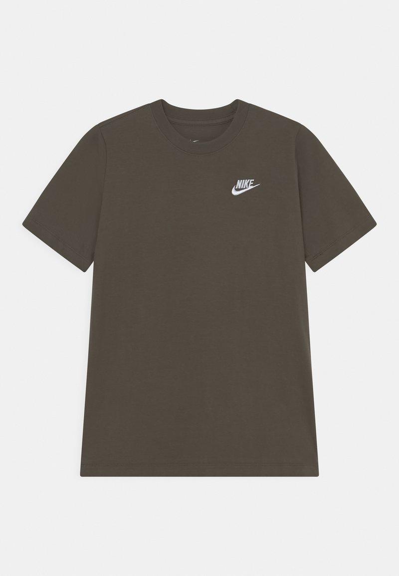 Nike Sportswear - FUTURA TEE  - T-shirt basic - cargo khaki/white