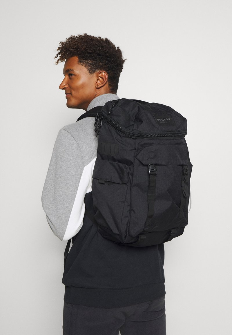 Burton - ANNEX GRAY HEATHER - Rucksack - black
