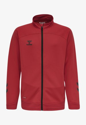 Training jacket - true red
