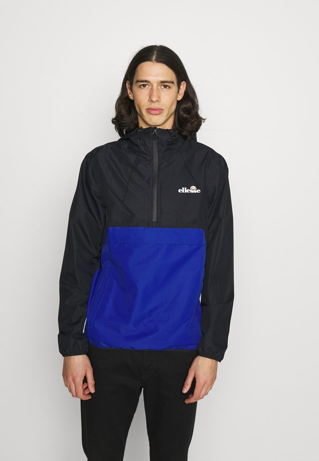 POLTERINI - Windjack - black/blue