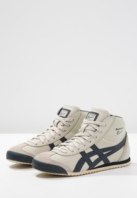 Onitsuka Tiger - MEXICO MID RUNNER UNISEX - High-top trainers - birch/indian ink - 2