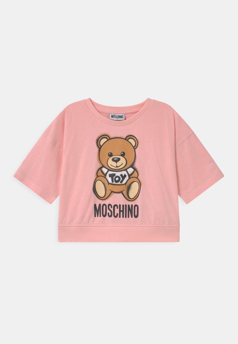 MOSCHINO - ADDITION - Print T-shirt - sugar rose