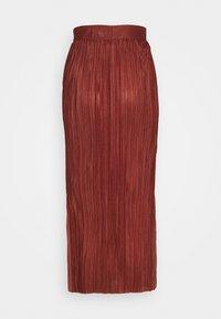 Selected Femme Tall - SLFKIMI MIDI SKIRT - Maksihame - smoked - 1