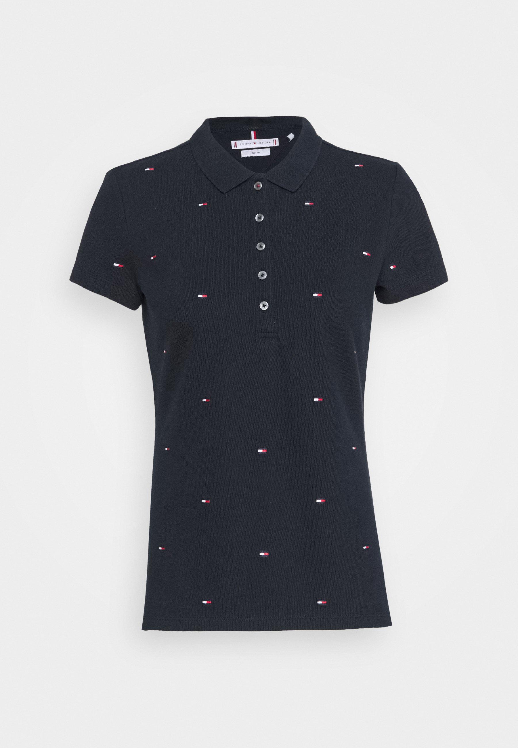 Women FELICIA SLIM EMBROIDERY - Polo shirt