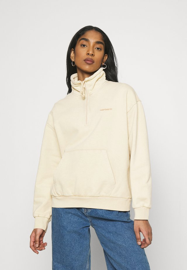 MOSBY SCRIPT HIGHNECK - Sweater - dusty brown
