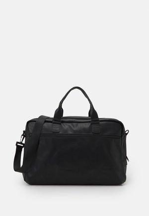 VINTAGE BOSTON UNISEX - Weekend bag - black