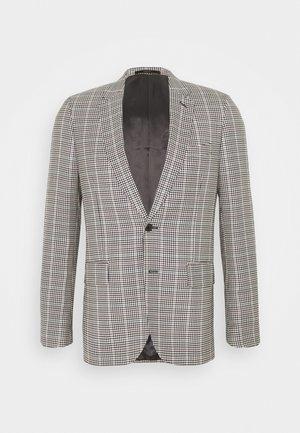 GENTS TAILORED FIT JACKET - Suit jacket - beige/black