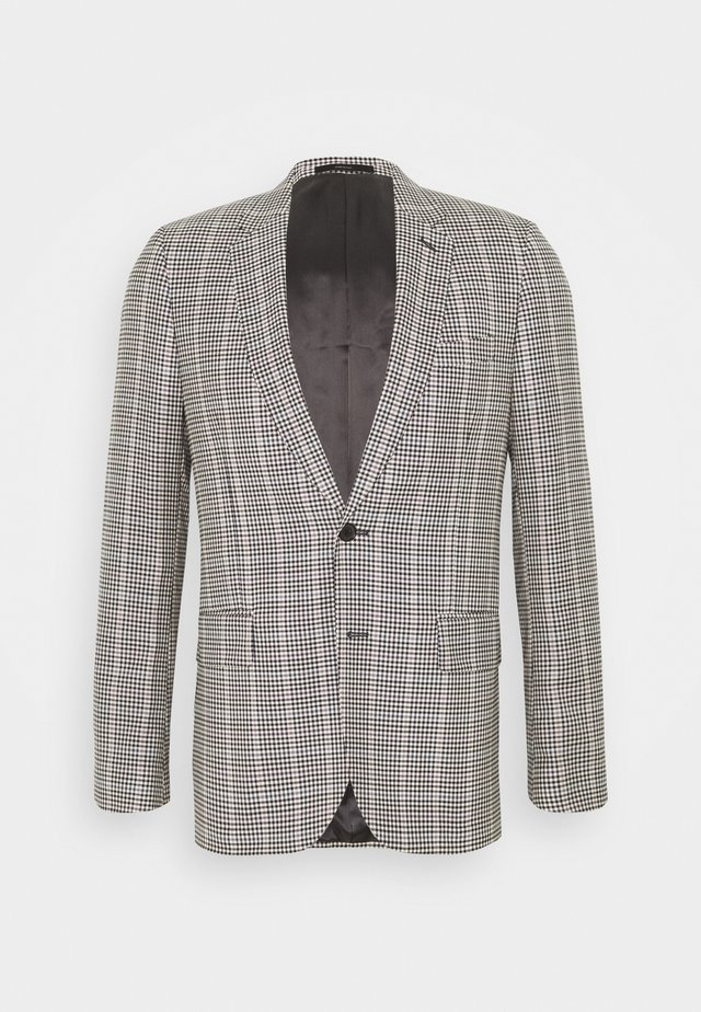 GENTS TAILORED FIT JACKET - Kavaj - beige/black