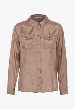 CRJILVA  ECO VERO - Button-down blouse - rose brown