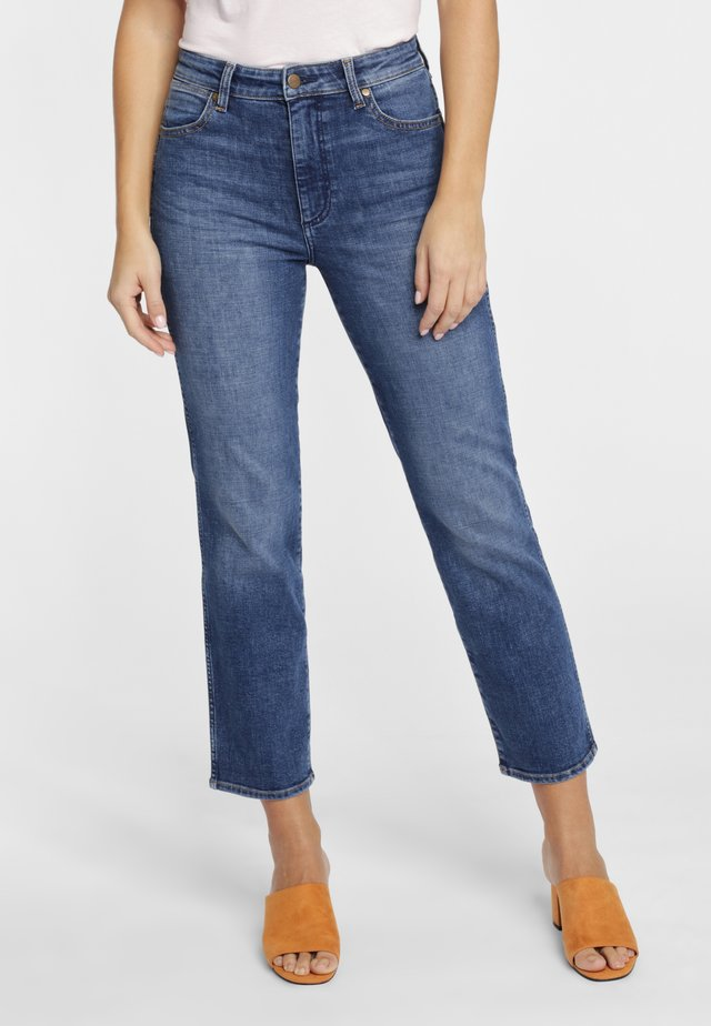 THE RETRO - Jeansy Straight Leg - blue