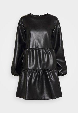 SMOCK DRESS - Sukienka letnia - black