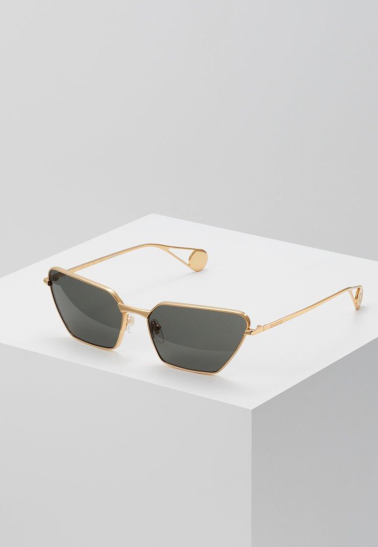 Gucci - Sunglasses - gold-coloured/grey