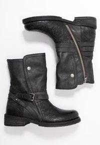 Felmini - COOPER - Cowboy/Biker boots - black - 3