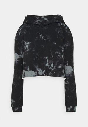 CLASSIC HOODIE - Bluza z kapturem - black/grey