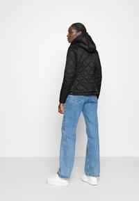 Hunter ORIGINAL - WOMENS REFINED QUILTED JACKET - Light jacket - black - 2