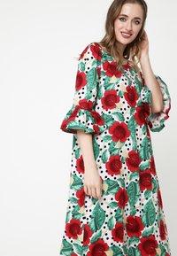 Madam-T - Maxi dress - rosa rot - 5