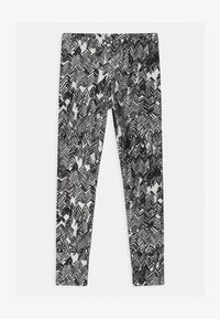 Papu - UNISEX - Legging - gypsum white/black - 0