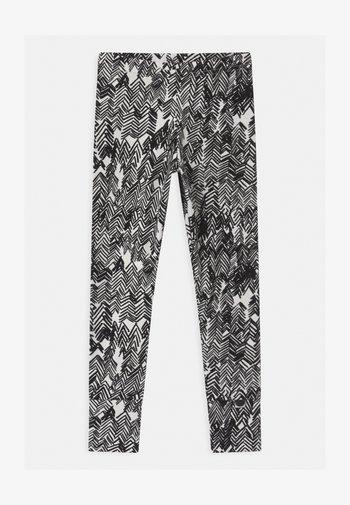UNISEX - Legging - gypsum white/black